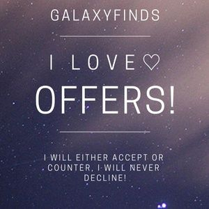 I LOVE OFFERS!